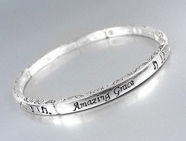 Inspirational Scripture AMAZING GRACE How Sweet Stretch Stackable Bracelet - €8,50 EUR