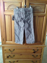 Roxy Girl plaid pants Size 8  - $19.99