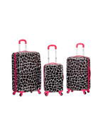 Rockland luggage 3PC Spinner Hardcase Expandabl... - $179.99