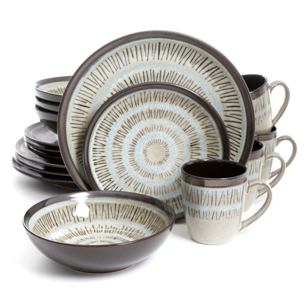 Gibson Elite Durham 16pc Round Dinnerware Set - $110.32  sc 1 st  Bonanza & Gibson Elite Dinnerware Set: 33 listings