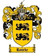 Rourke Family Crest / Coat of Arms JPG or PDF Image Download - $6.99