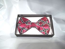 Bow Tie Confederation Red Blue and White Gift Box image 2