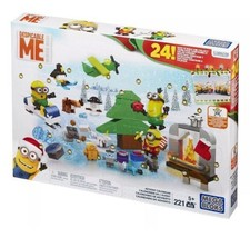 MEGA BLOKS DESPICABLE ME MINION ADVENT CALENDAR BRAND NEW IN BOX - $29.99