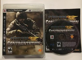 LikeNEW Complete SOCOM U.S. Navy SEALs Confrontation Sony PlayStation 3 2008 PS3 - $7.99