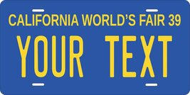 California 1939 Personalized Custom Novelty Tag Vehicle Car Auto Motorcy... - $16.75