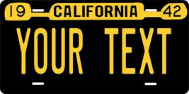 California 1942 Personalized Custom Novelty Tag Vehicle Car Auto Motorcy... - $16.75