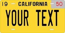 California 1950 Personalized Custom Novelty Tag Vehicle Car Auto Motorcy... - $16.75