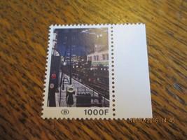 BELGIUM STAMP 1000 F TRAIN SCENE MNH  - Free Shipping - $40.00