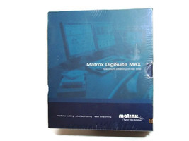 Matrox DigiSuite Max LE-N Installation Software & Utilities Retail was $... - $39.60