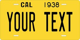 California 1938 Personalized Custom Novelty Tag Vehicle Car Auto Motorcy... - $16.75