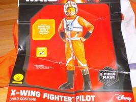 Size Medium 8-10 Disney Star Wars X-Wing Fighter Pilot Halloween Costume... - $45.00