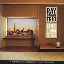 Live from New York to Tokyo by Ray Brown (Bass) (CD, Mar-2003, 2 Discs, ... - $14.95