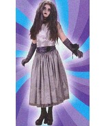 TEEN ZOMBIE PROM DRESS COSTUME FITS JR 0-9 - $35.00
