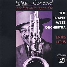 Entre Nous by Frank Wess Orchestra (CD, Jul-2004, Concord Jazz) - $15.95