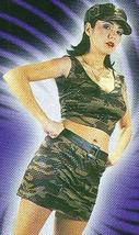 SEXY SERVICE GIRL ARMY ADULT Costume 8-14 HOT!! - $19.99
