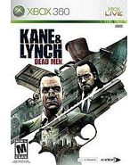 Kane & Lynch: Dead Men (Microsoft Xbox 360, 2007) - $10.00