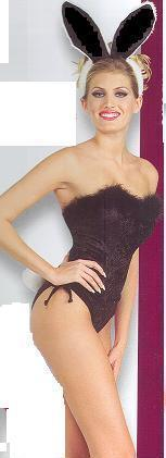 SEXY PLAY BUNNY COSTUME BLACK SMALL