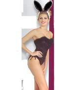 SEXY PLAY BUNNY COSTUME BLACK SMALL - $40.00