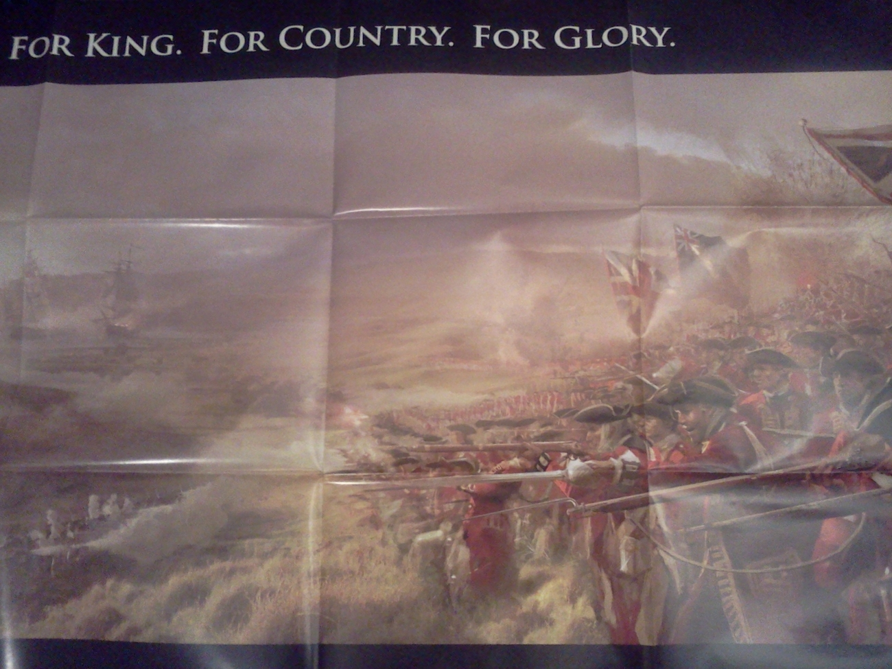 Huge Age of Empires III Poster!