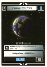 Star Trek CCG - Avert Disaster - $0.99
