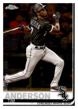 #186 Tim Anderson White Sox - $1.25