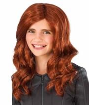 Black Widow Wig Captain America Civil War Halloween Child Costume Accessory - $18.66