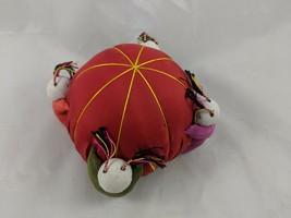 Oriental Asian Theme Pin Cushion Silk China - $10.03