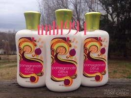 Bath Body Works Pomegranate Citrus Lotion Lot 3 lemon lemonade - $29.99