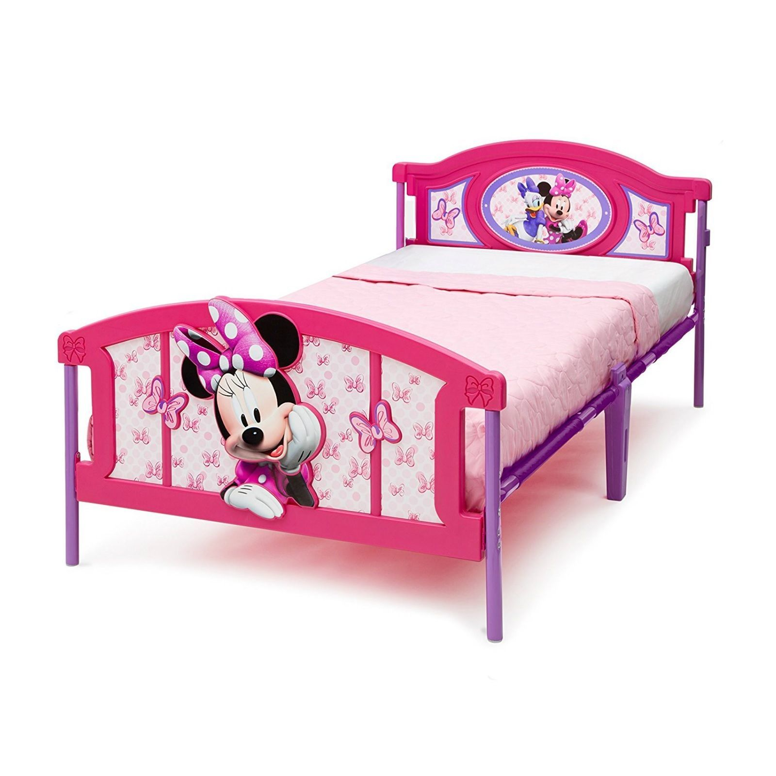 Twin Bed Frame For Kids Girls Children Bedroom Furniture
