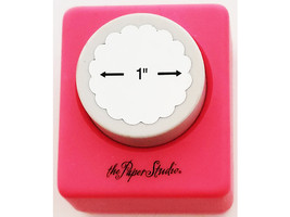 """The Paper Studio 1"""" Scalloped Circle Punch"""