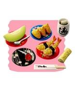 Re-Ment Japanese Sushi Bar #8 Meal Set Retired ... - $69.97