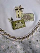 Little Me DINOSAUR Blue Green Cotton Baby Blanket Lovey - $29.35