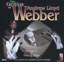 The Genius of Andrew Lloyd Webber by Orlando Pops Orchestra/Andrew Lloyd... - $9.00