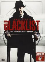 The Blacklist: The Complete First Season (DVD, 2014, 5-Disc Set) - $11.95