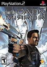 Syphon Filter: Dark Mirror (Sony PlayStation 2, 2007) - $8.00