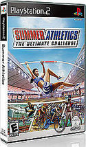 Summer Athletics: The Ultimate Challenge (Sony PlayStation 2, 2008) - $7.00