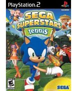 Sega Superstars Tennis (Sony PlayStation 2, 2008) - $8.00