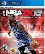 NBA 2K15 (Sony PlayStation 4, 2014) - $18.00