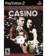 High Rollers Casino (Sony PlayStation 2, 2004) - $9.00