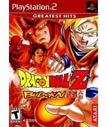 Dragon Ball Z: Budokai (Sony PlayStation 2, 2002) - $25.00