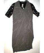 New Womens 4 NWT Designer Antonio Marras Italy Dress 40 Silk Sequins Bla... - $2,130.00