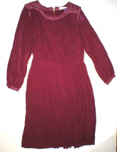 New Womens 4 NWT Designer Red Valentine Gauthier Dress Silk Long Sleeves... - $373.50