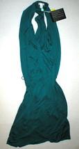 New Womens 8 NWT Designer Doo.Ri Dark Teal Aqua Blue Dress T Back Belt S... - $215.00