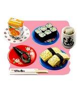 Re-Ment Japanese Sushi Bar #1 Meal Set Retired ... - $69.97
