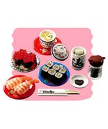 Re-Ment Japanese Sushi Bar #6 Meal Set Retired ... - $69.97