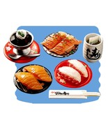 Re-Ment Japanese Sushi Bar #7 Meal Set Retired ... - $69.97