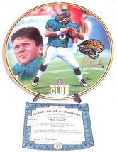 Jacksonville Jaguars Mark Brunell Collector Plate Quaterback Club Bradfo... - $59.95