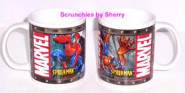 Marvel  Spiderman Coffee Cup Mug Mugs Collectors 2004 Disney Lot of 2 - $49.95