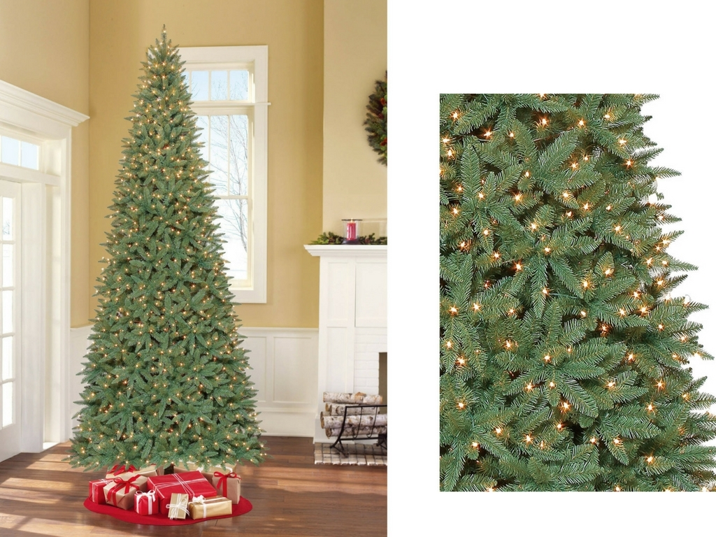 Artificial christmas tree pre lit xmas ft sale fake