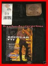 Mens Pants Dickies Denim Jeans ~BLACK~ Size 33 X 34 NWT - $19.75